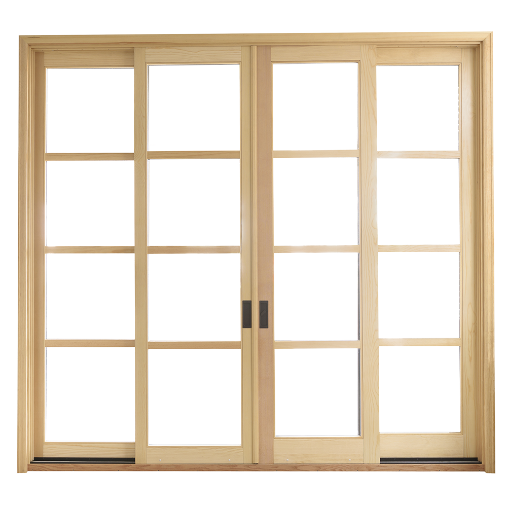 Sierra Pacific Windows Door Sliding Aluminum Clad Wood Sliding