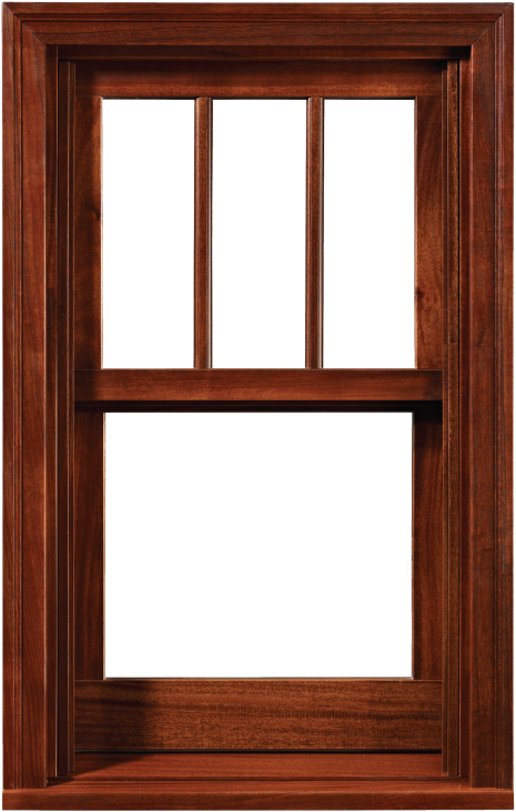All-Wood Single and Double Hung